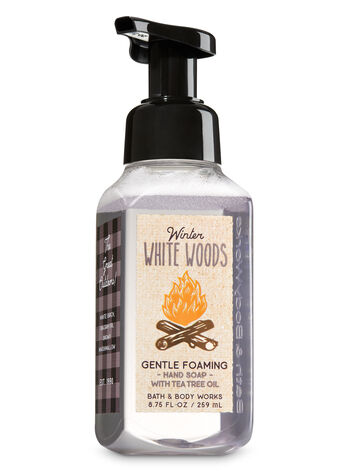 Winter White Woods Gentle Foaming Hand Soap - Bath And Body Works