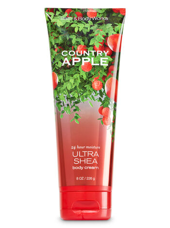 Signature Collection Country Apple Ultra Shea Body Cream - Bath And Body Works