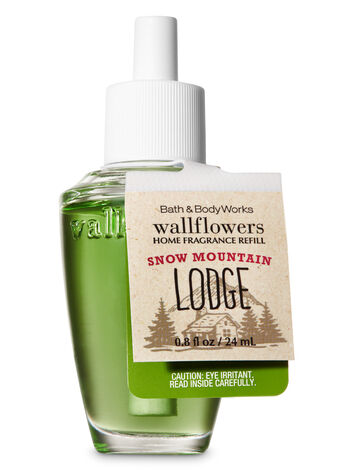 Snow Mountain Lodge Wallflowers Fragrance Refill - Bath And Body Works