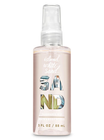 Signature Collection Island White Sand Travel Size Fine Fragrance Mist - Bath And Body Works