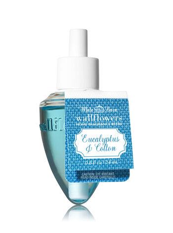 White Barn Eucalyptus & Cotton Wallflowers Fragrance Refill - Bath And Body Works