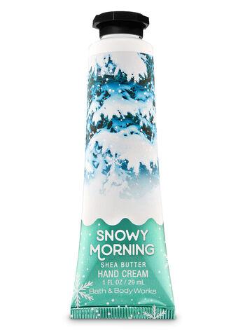 Snowy Morning Hand Cream - Bath And Body Works