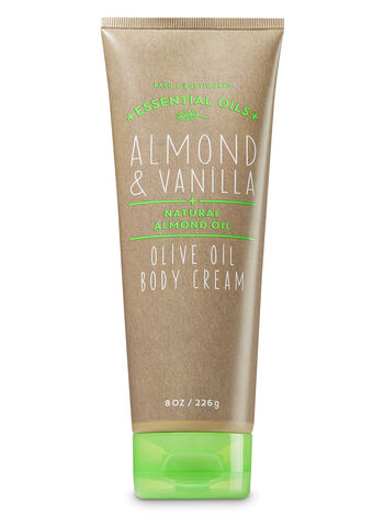 Almond & Vanilla Olive Oil Body Cream - Bath And Body Works