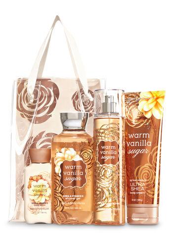 Warm Vanilla Sugar Warm And Cozy Gift Set