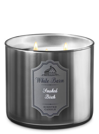 Smoked Birch 3-Wick Candle