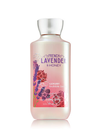 Signature Collection French Lavender & Honey Luxury Bubble Bath - Bath And Body Works