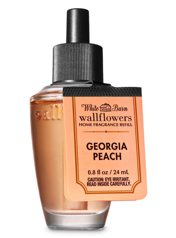 White Barn Georgia Peach Wallflowers Fragrance Refill - Bath And Body Works
