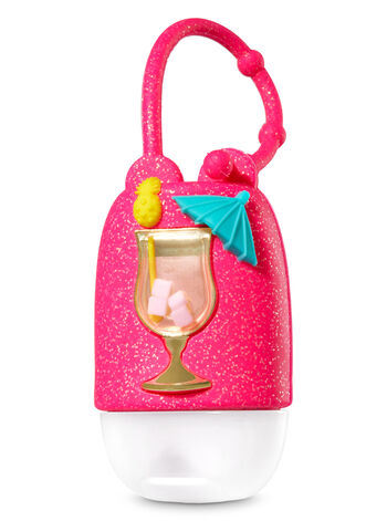 Shimmery Tropical Cocktail PocketBac Holder - Bath And Body Works
