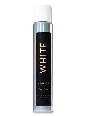 Signature Collection White Mousse-to-Oil - Bath And Body Works