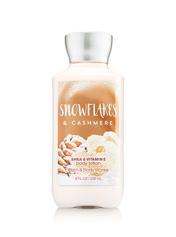 Signature Collection Snowflakes & Cashmere Body Lotion - Bath And Body Works