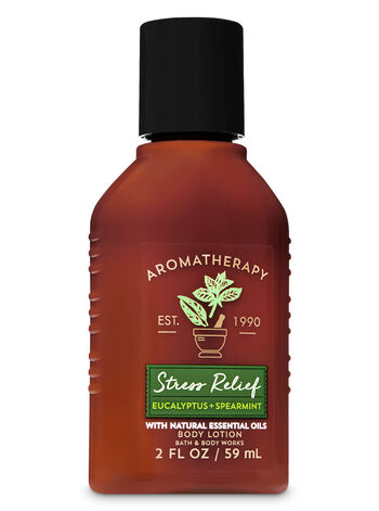 Aromatherapy Stress Relief - Eucalyptus & Spearmint Travel Size Body Lotion - Bath And Body Works