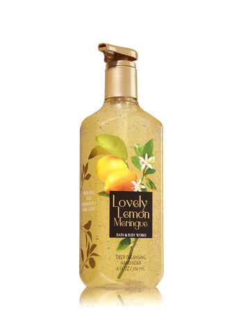 Lovely Lemon Meringue Deep Cleansing Hand Soap - Bath And Body Works