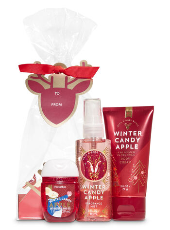 Winter Candy Apple Holiday Traditions Mini Gift Set
