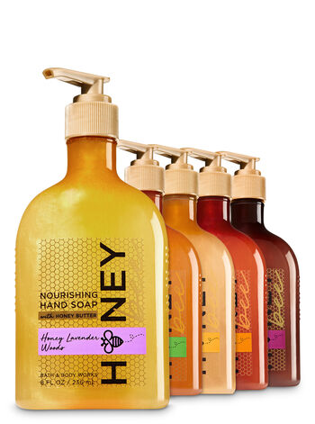 Oh, Honey 5-Pack Hand Soap with Honey Butter - Bath And Body Works