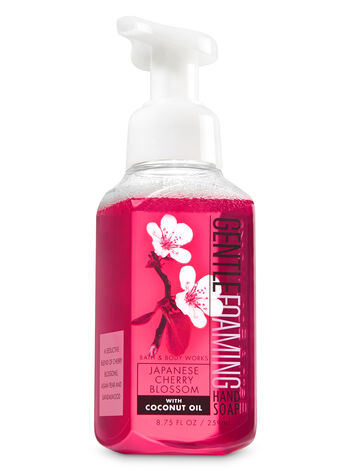 Japanese Cherry Blossom Gentle Foaming Hand Soap - Bath And Body Works