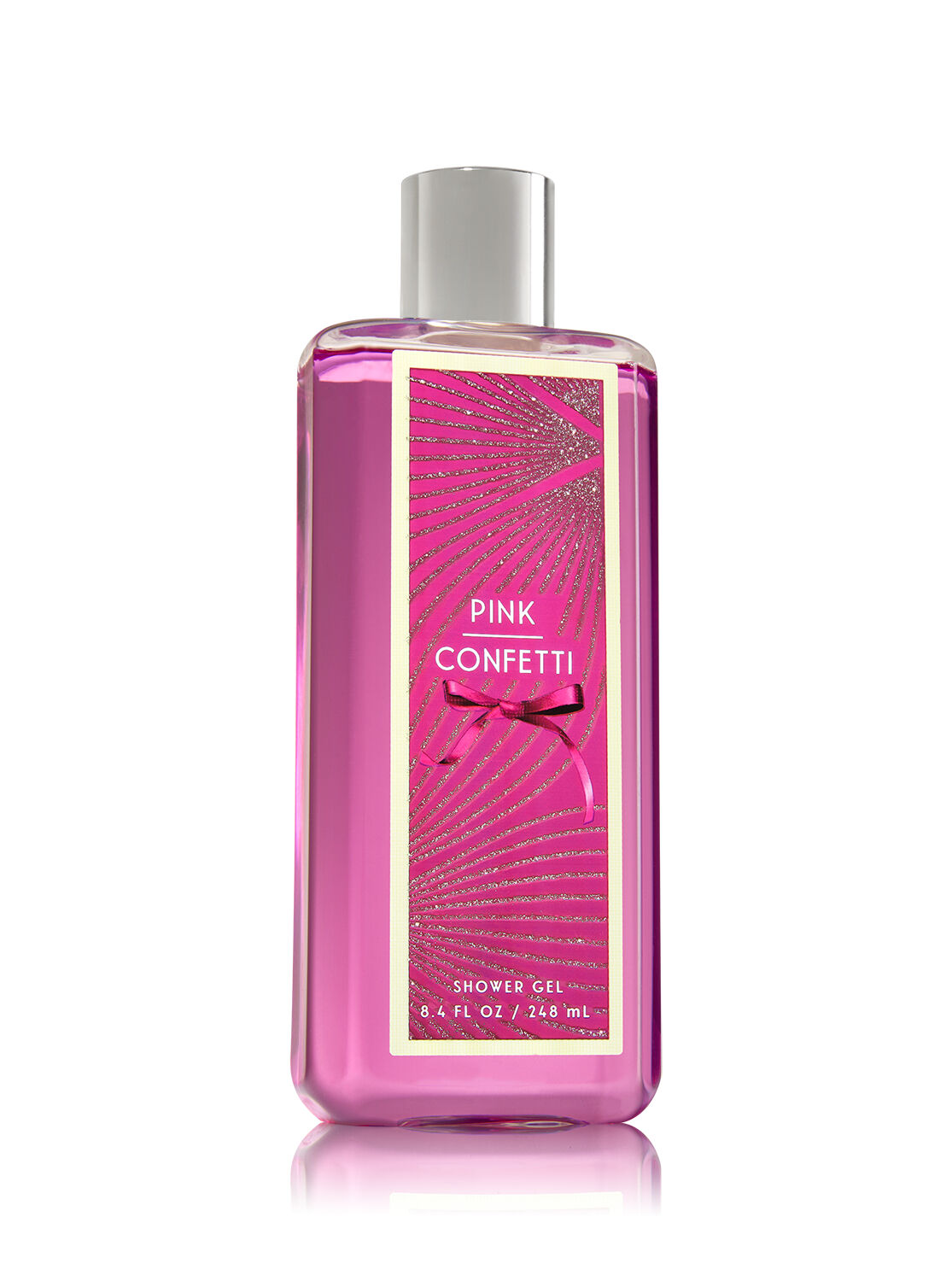 signature collection pink confetti shower gel bath and body works
