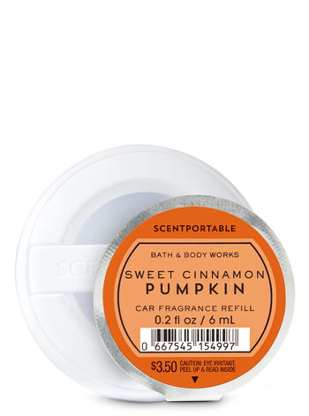 Sweet Cinnamon Pumpkin Scentportable Fragrance Refill - Bath And Body Works