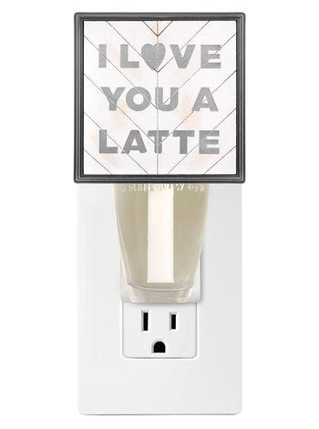 I Love You a Latte Wallflowers Fragrance Plug