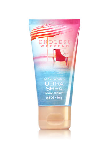 Signature Collection Endless Weekend Travel Size Body Cream - Bath And Body Works