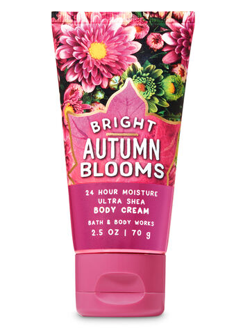 Bright Autumn Blooms Travel Size Body Cream - Bath And Body Works