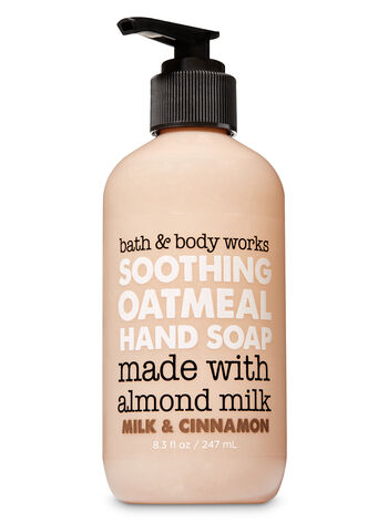 Milk & Cinnamon Soothing Oatmeal Hand Soap - Bath And Body Works