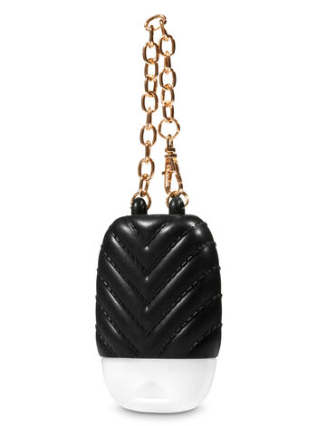 Black Quilted Purse PocketBac Holder - Bath And Body Works