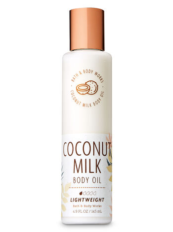 Coconut Milk Body Oil - Bath And Body Works