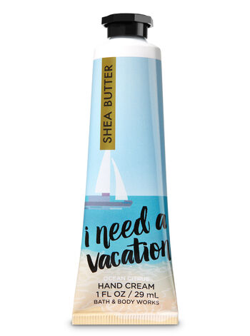 Signature Collection I Need A Vacay Hand Cream - Bath And Body Works