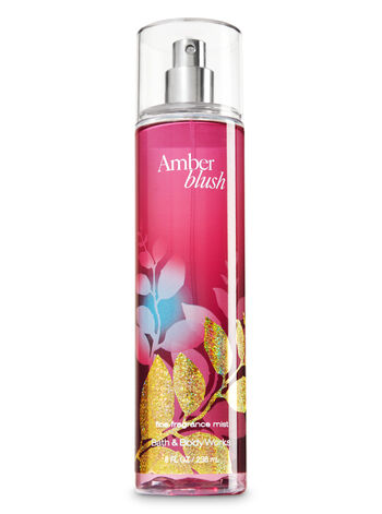 Signature Collection Amber Blush Fine Fragrance Mist - Bath And Body Works