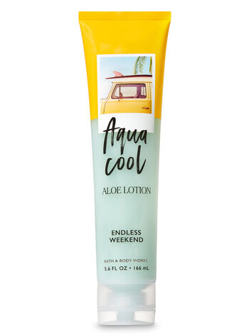 Signature Collection Endless Weekend Aqua Cool Aloe Lotion - Bath And Body Works
