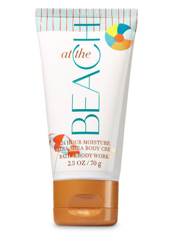 Signature Collection At The Beach Travel Size Body Cream - Bath And Body Works