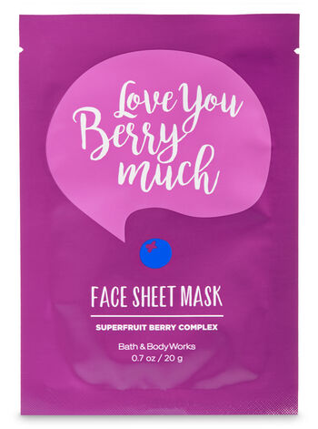 Love you Berry Much Face Sheet Mask