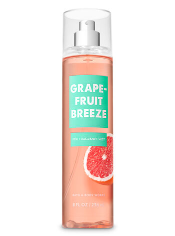 Signature Collection Grapefruit Breeze Fine Fragrance Mist - Bath And Body Works