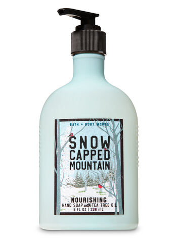 Snow Capped Mountain Hand Soap with Tea Tree Oil - Bath And Body Works