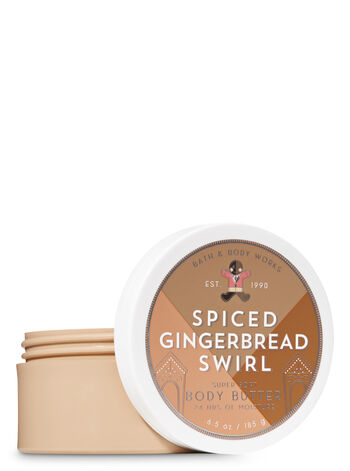 Signature Collection Spiced Gingerbread Swirl Body Butter - Bath And Body Works