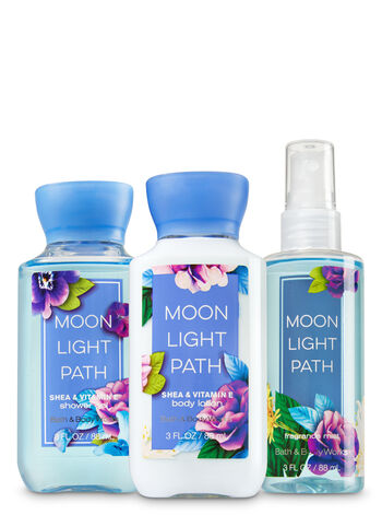 Signature Collection Moonlight Path Travel Size Daily Trio - Bath And Body Works