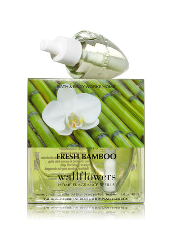Fresh Bamboo Wallflowers 2-Pack Refills - Bath And Body Works