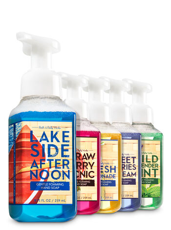 Afternoon Picnic 5-Pack Gentle Foaming Soap - Bath And Body Works