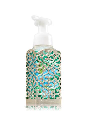 Openwork Pewter Pattern Gentle Foaming Soap Sleeve