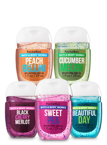 Best Friends (Forever!) 5-Pack PocketBac Hand Sanitizers - Bath And Body Works