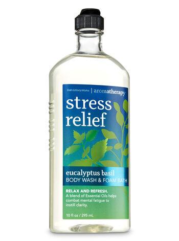 Aromatherapy Eucalyptus Basil Body Wash & Foam Bath - Bath And Body Works