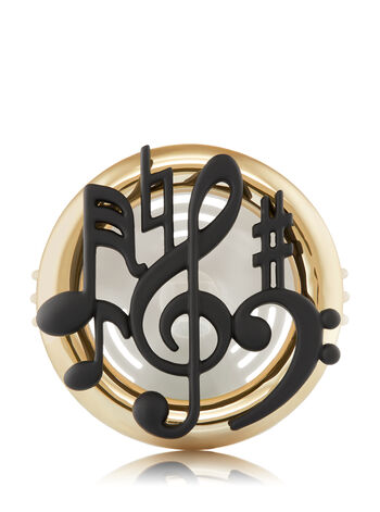 Music Notes Vent Clip Scentportable Holder