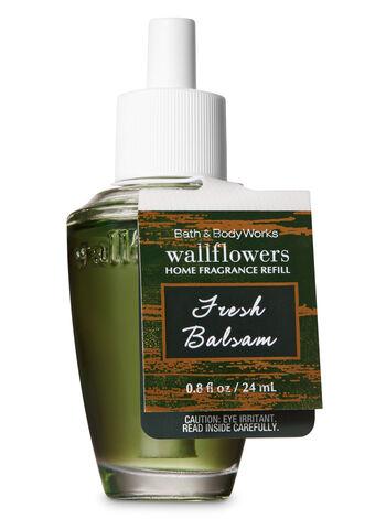 Fresh Balsam Wallflowers Fragrance Refill - Bath And Body Works