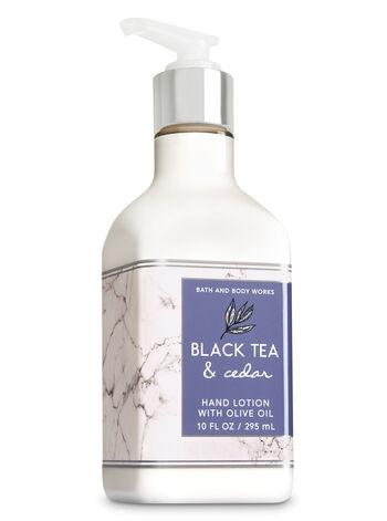 Black Tea & Cedar Hand Lotion with Olive Oil - Bath And Body Works