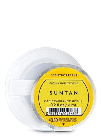 Suntan Scentportable Fragrance Refill - Bath And Body Works