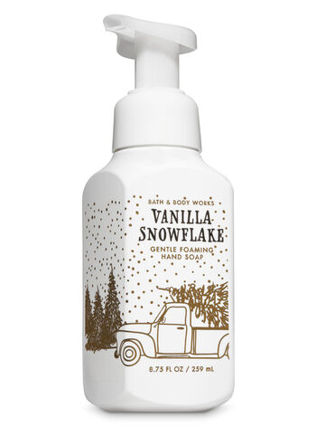 Vanilla Snowflake Gentle Foaming Hand Soap - Bath And Body Works