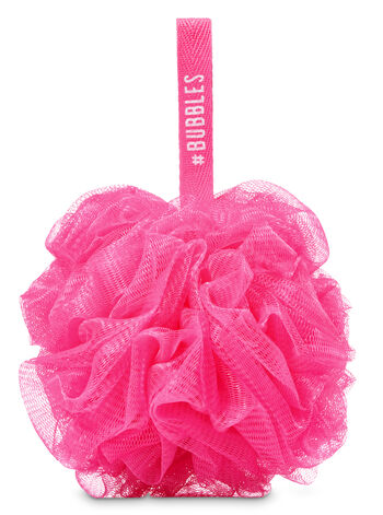 Pink Mesh Sponge - Bath And Body Works