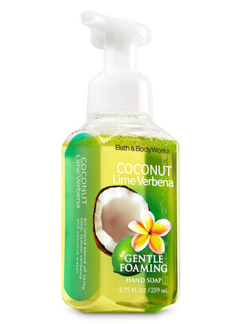 Coconut Lime Verbena Gentle Foaming Hand Soap - Bath And Body Works