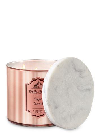 Copper Coconut 3-Wick Candle