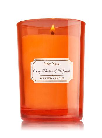 Orange Blossom & Driftwood Medium Candle - Bath And Body Works